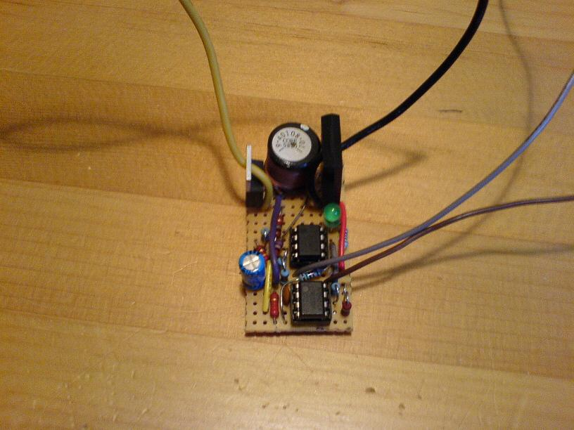 Boost Converter Circuit Board