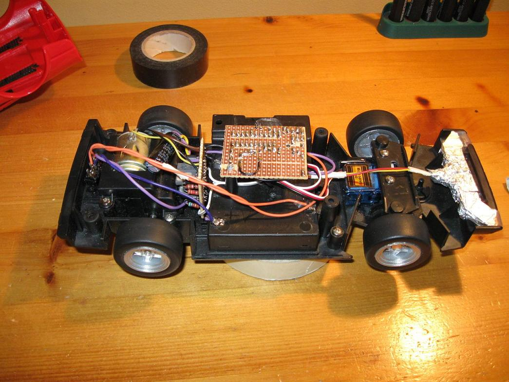 Uzzors2k Hobby Projects Site Bluetooth Controlled Car Circuit Diagram Assembly Of Assembled
