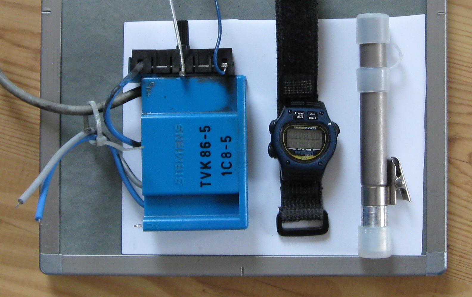 color, multiplier, watch, dosimeter