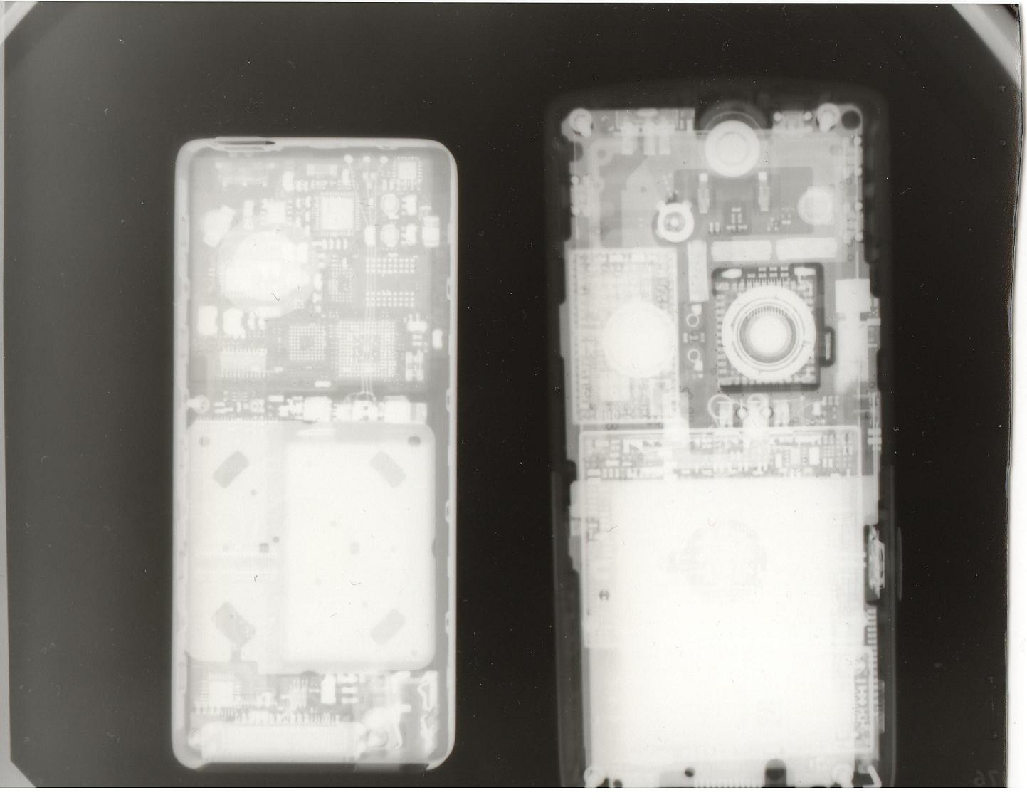 x-ray ipod and k750i