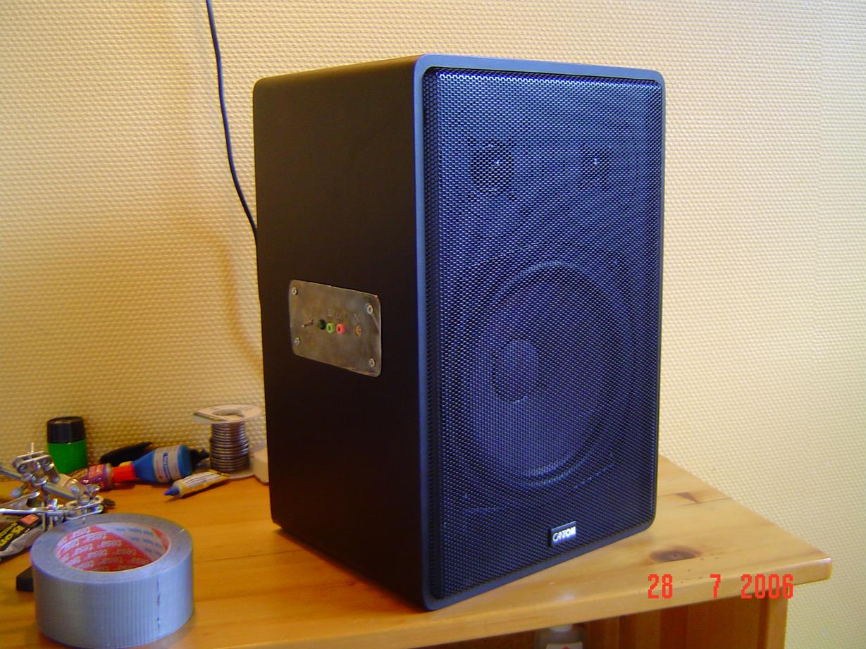 Finished Subwoofer