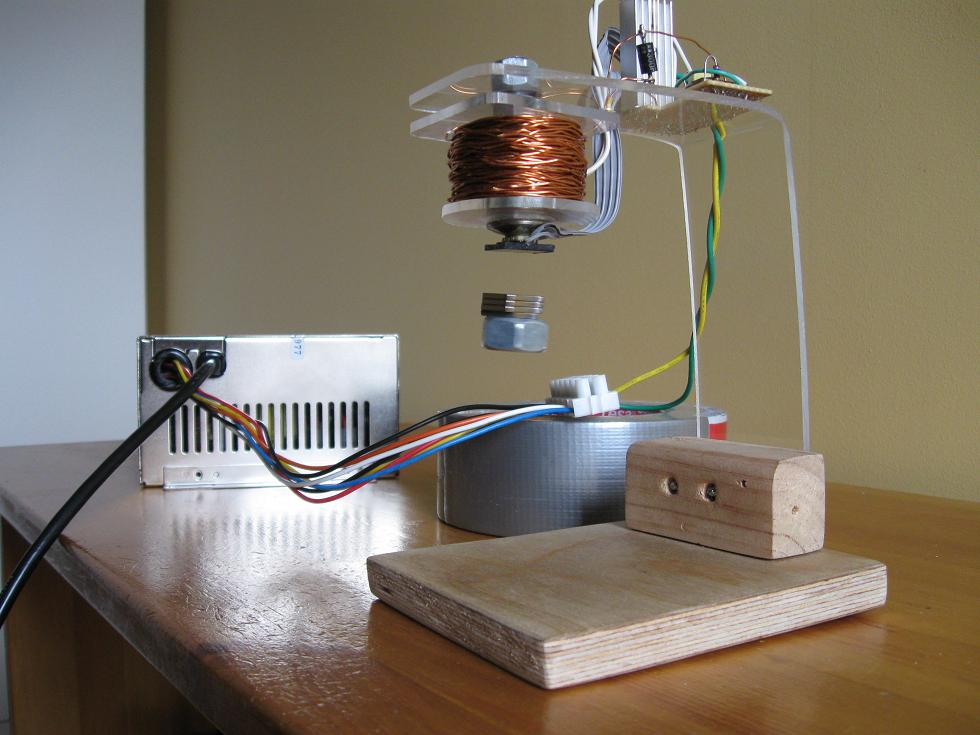 Sensor Circuit Of Magnetic Attraction Electronics Projects Circuits