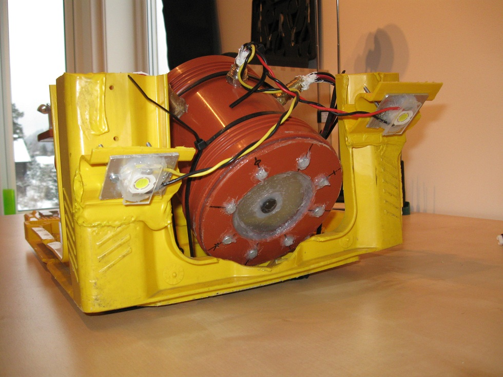 ROV body construction