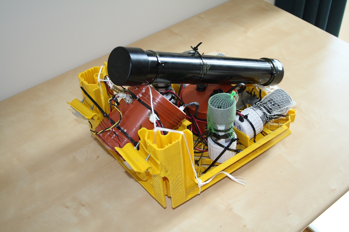 Completed Mark II ROV