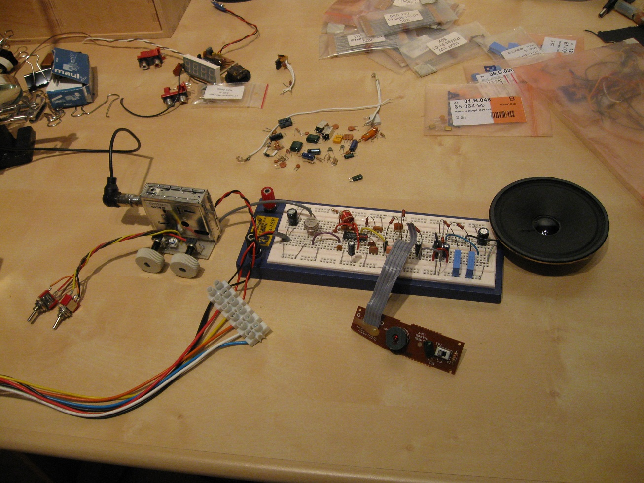 Uzzors2k Hobby Projects Site One Chip Am Radio Receiver This Project Was Largely Inspired By Swedish Guys Tv Tuner Be Sure To See The Rest Of His Which Caught My Attention Because A All